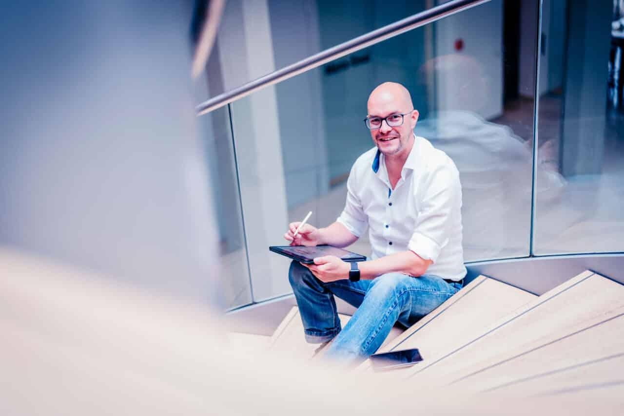 Business-Portrait Unternehmer