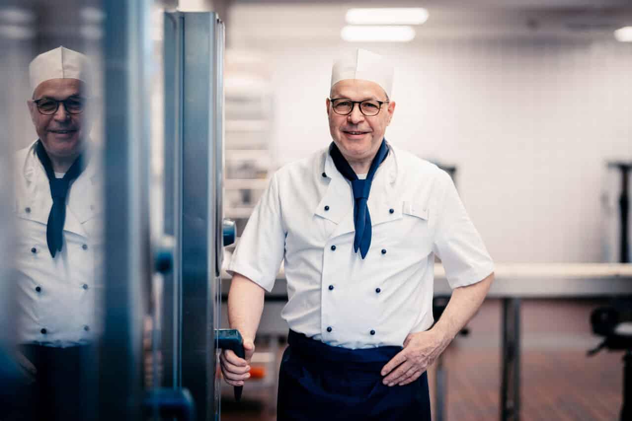 Business-Portrait Küchenchef Chefkoch Gastro Küche